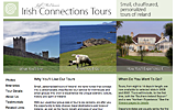 Irish Connections website