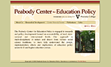 Peabody Center for Education Policy