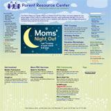 Parent Resource Center website